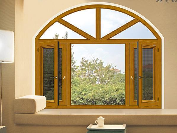 120铝木窗