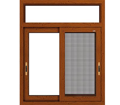 新98窗纱一体推拉窗
