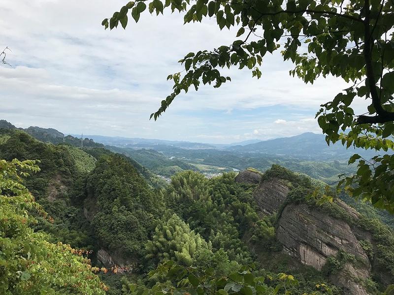 邵阳的风景山